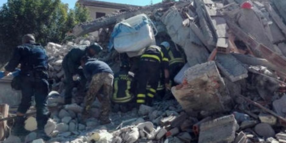 Cancillería da asistencia por sismo en Italia