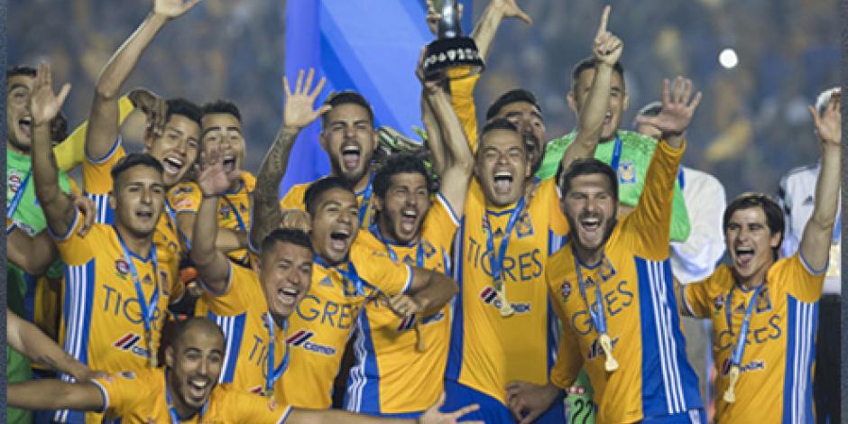 Tigres, campeón del Apertura 2016