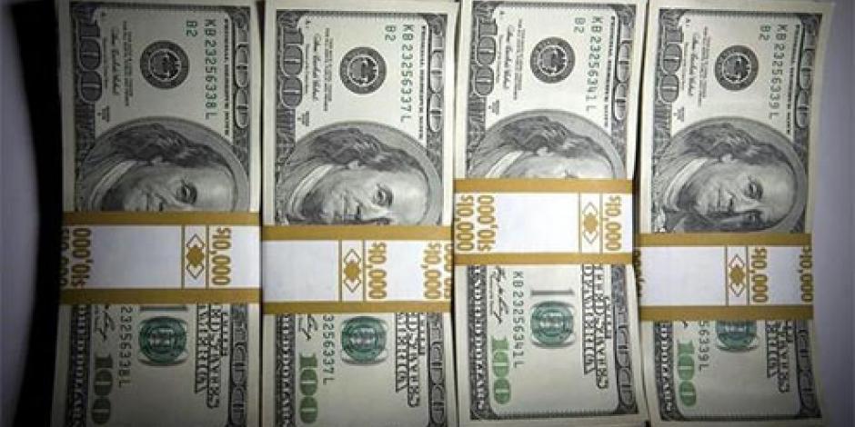 Abre dólar en 18.15 pesos en bancos capitalinos