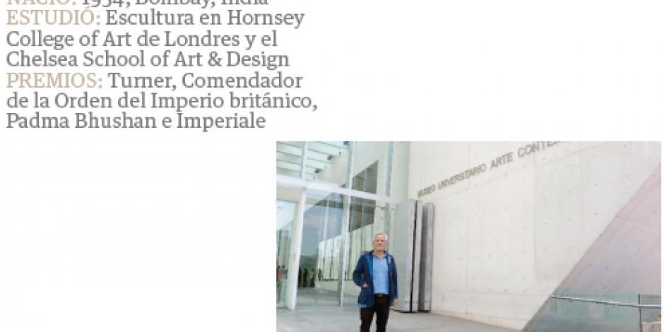 Kapoor llega a México con 562 mil kilos de arte