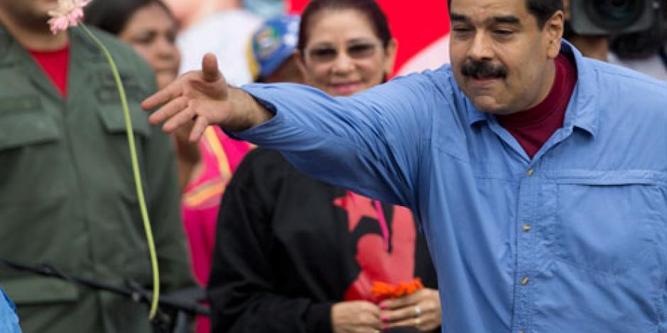 Maduro acusa a OEA de buscar intervención externa contra Venezuela
