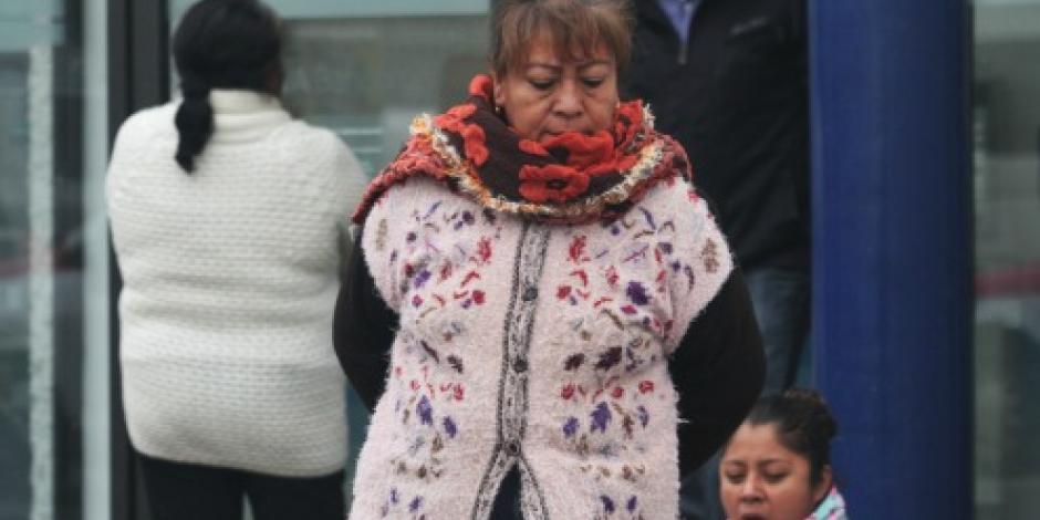 Frente frío 10 y tormenta invernal mantendrán bajas temperaturas en el país