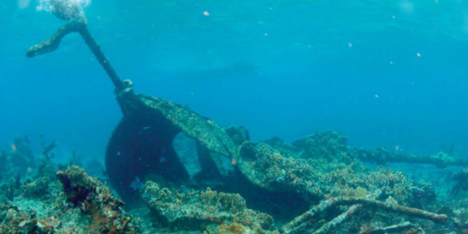El INAH resguarda tesoros subacuáticos de cinco siglos