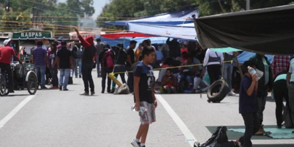 Maestros no temen a intervención policiaca, dice CNTE