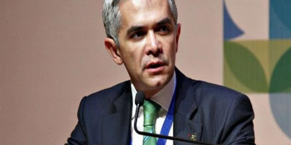 CDMX, lista para la aplicación de norma emergente, afirma Mancera