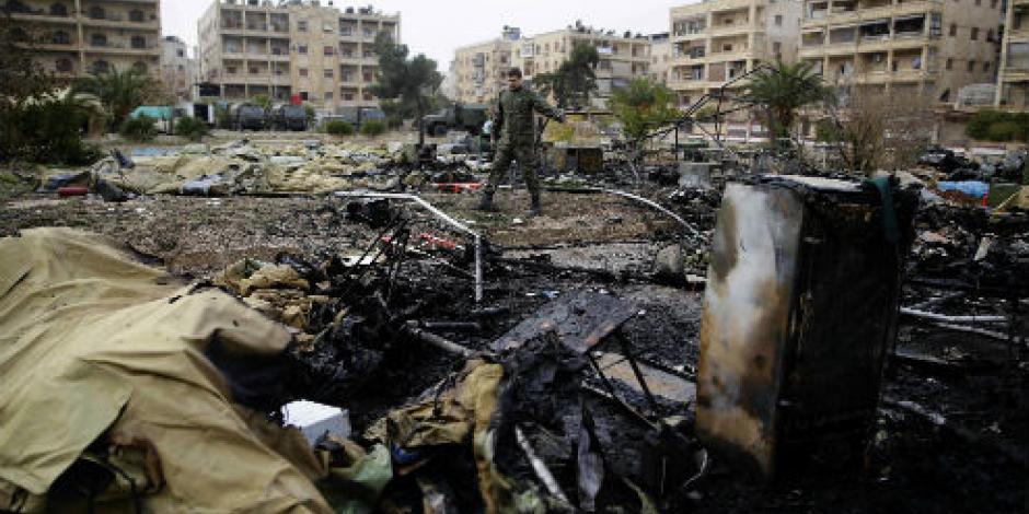 Vetan Rusia y China en ONU propuesta de cese al fuego en Siria