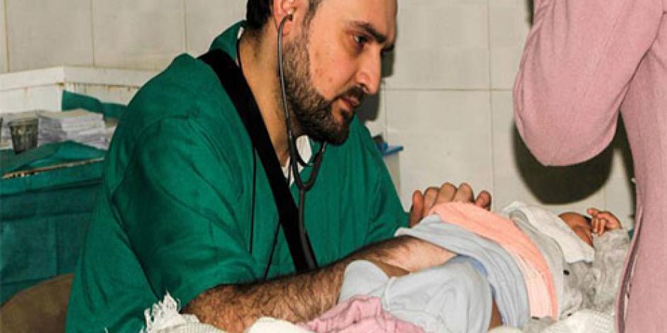 VIDEO: Muere el último pediatra de Alepo