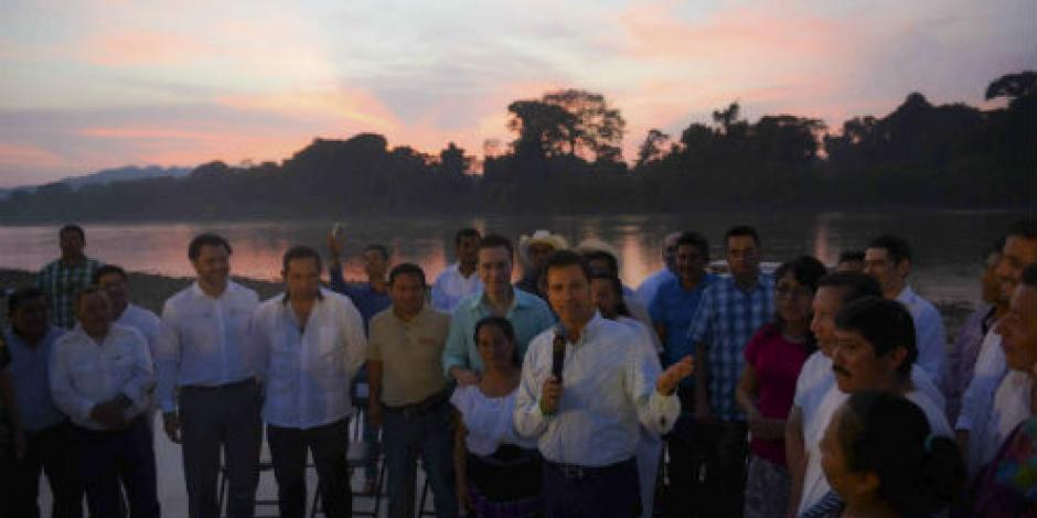 EPN instruye acciones para mantener la Selva Lacandona zona natural protegida