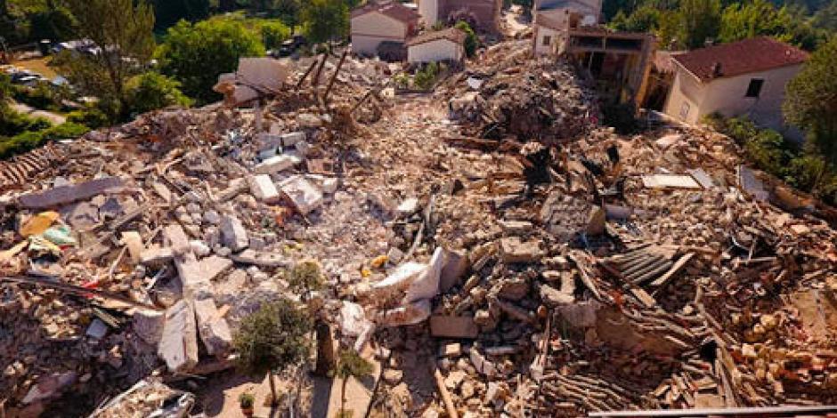 Decreta Italia jornada de luto nacional por sismo