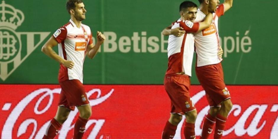 Gol de Diego Reyes da la victoria al Espanyol