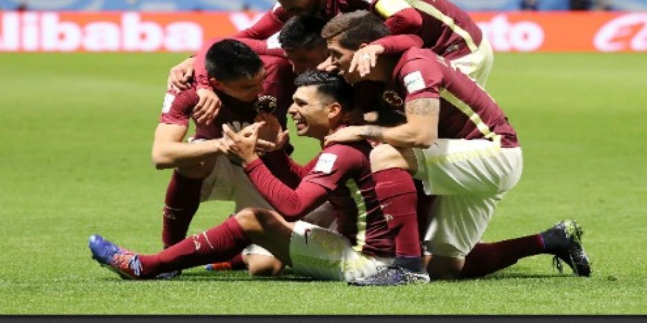 Con doblete de Romero, América va a semifinales del Mundial de Clubes