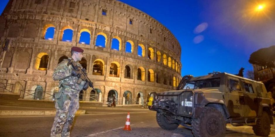 Italia refuerza medidas antiterrorismo por fiestas de Año Nuevo