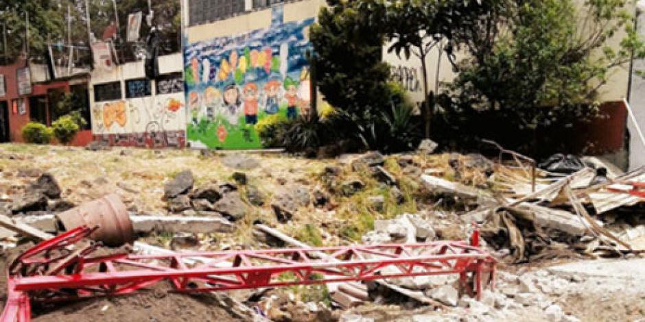 La PGR abre indagatoria por la demolición de capilla en Tlalpan