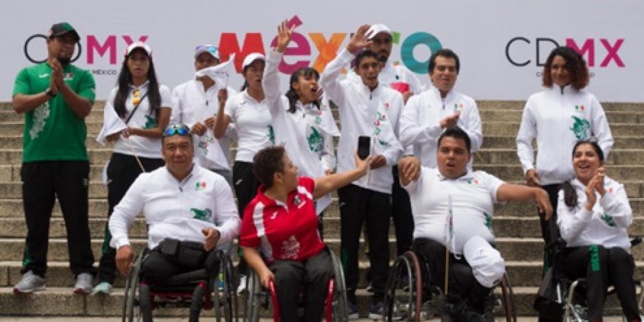 Declaran listos a seleccionados paralímpicos