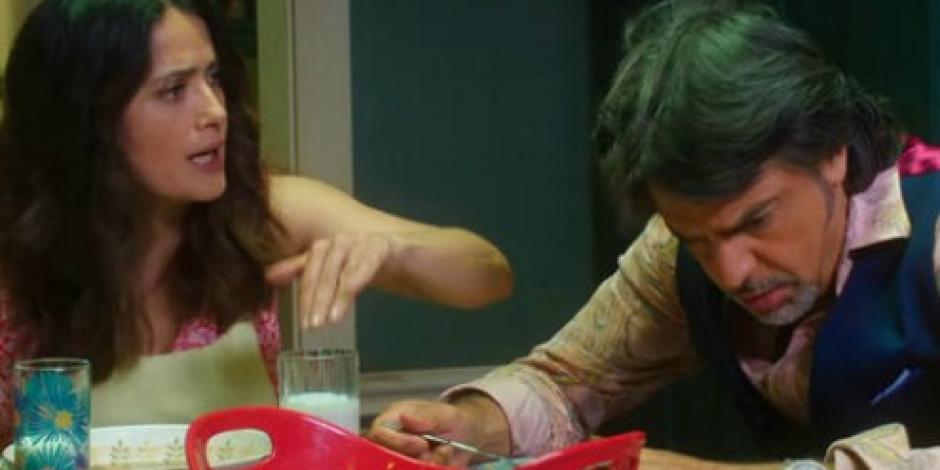 VIDEO: Lanzan tráiler de la nueva cinta de Salma Hayek y Derbez