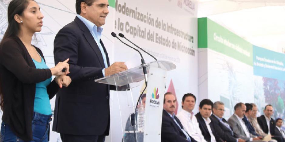 Aureoles destina $10 mil 800  millones para renovar Morelia