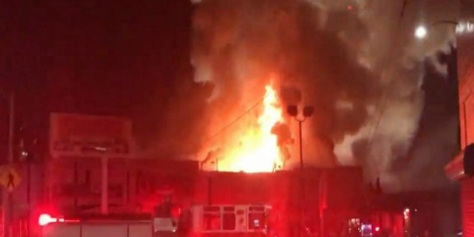 Aumenta a 40 cifra de muertos por incendio en California