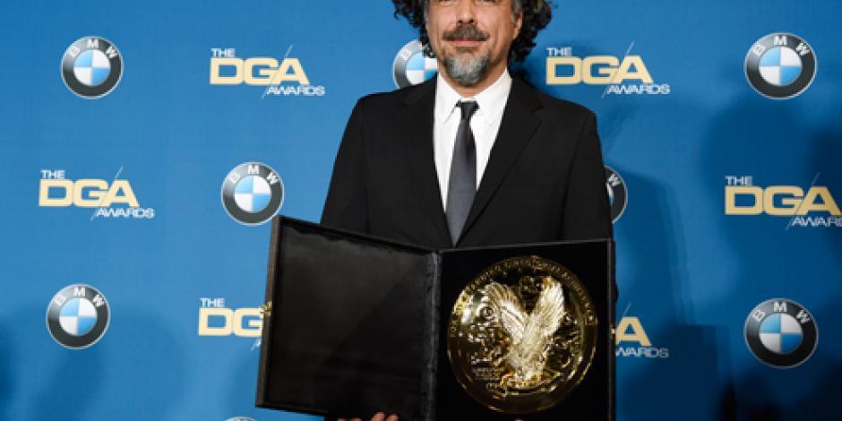González Iñárritu es galardonado por segundo año en los premios DGA