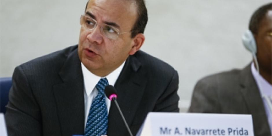 Gobierno federal, abierto a reforma de justicia laboral, señala Navarrete