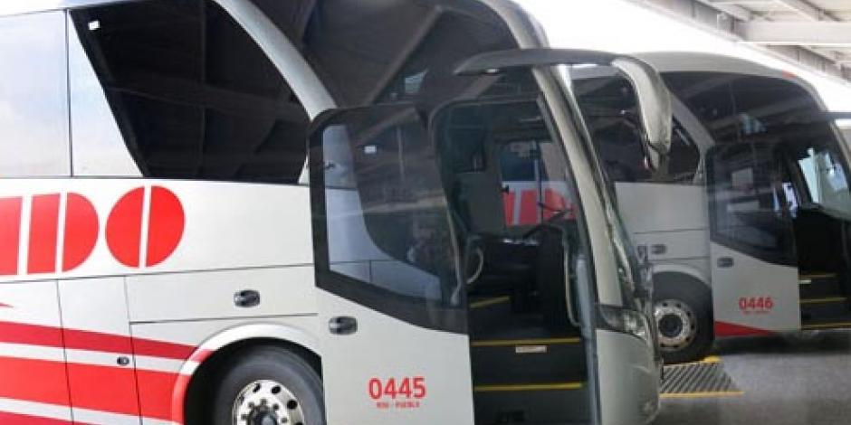 Investigan robo de 6 autobuses de ADO en Azcapotzalco