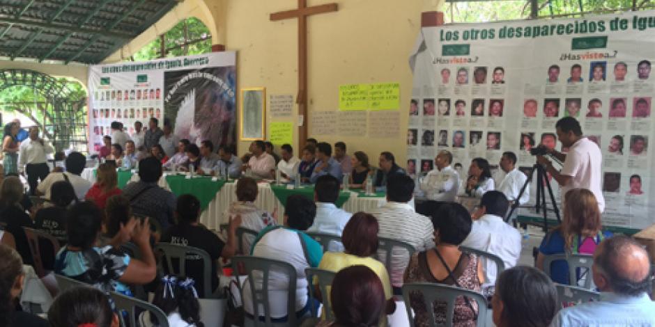 Autoridades dan a conocer acciones sobre atención a víctimas en Iguala