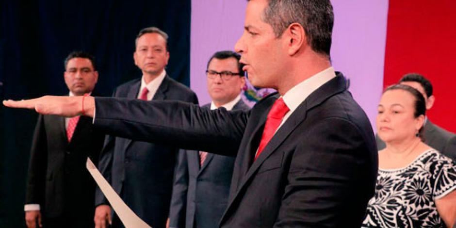 Rinde protesta Alejandro Murat como gobernador de Oaxaca