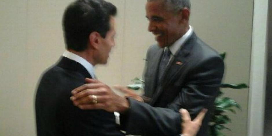 EPN y Obama, juntos durante la Cumbre del G20