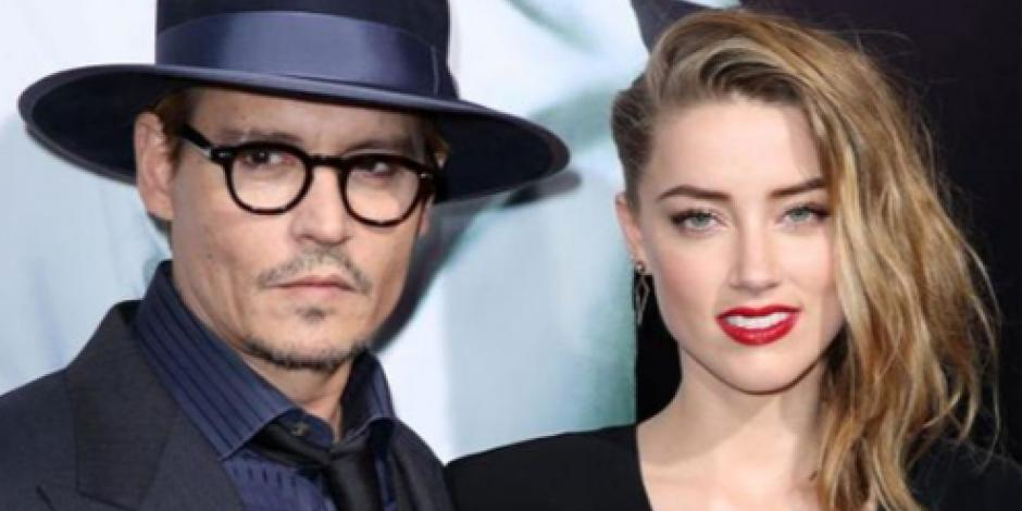Aseguran que Amber Heard pidió el divorcio a Johnny Depp