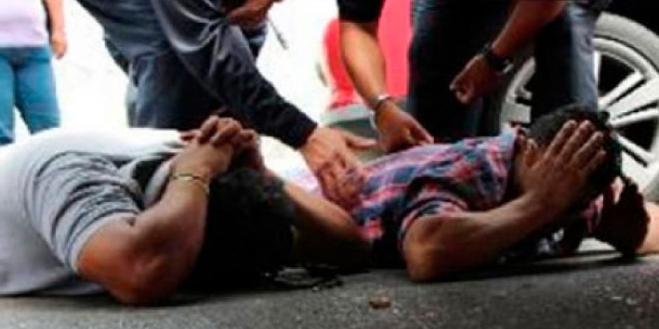 Balacera en GAM deja 2 presuntos delincuentes muertos