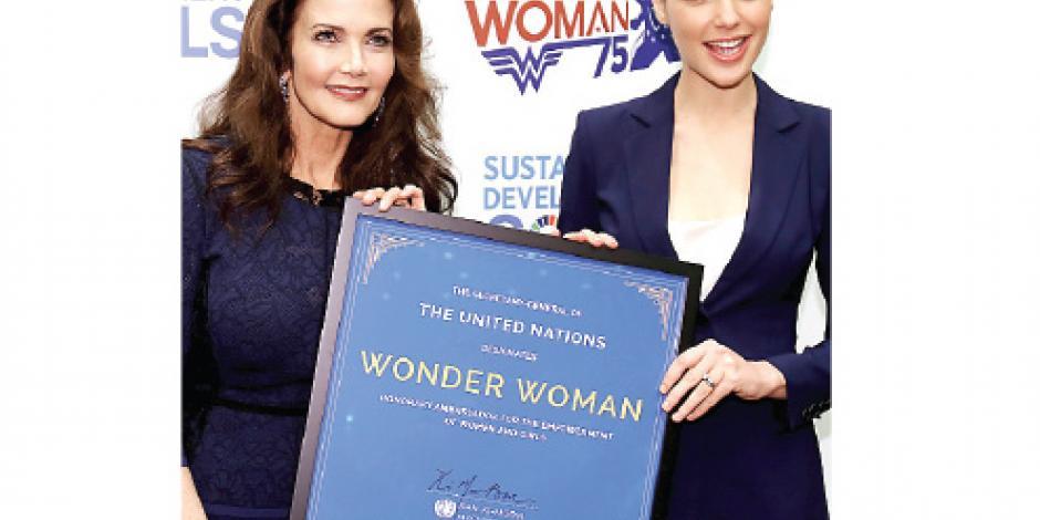 ONU pierde a la Mujer Maravilla