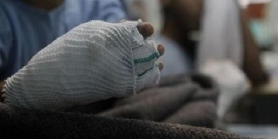 Hospital de Sonora atiende primer menor herido por uso de pirotecnia
