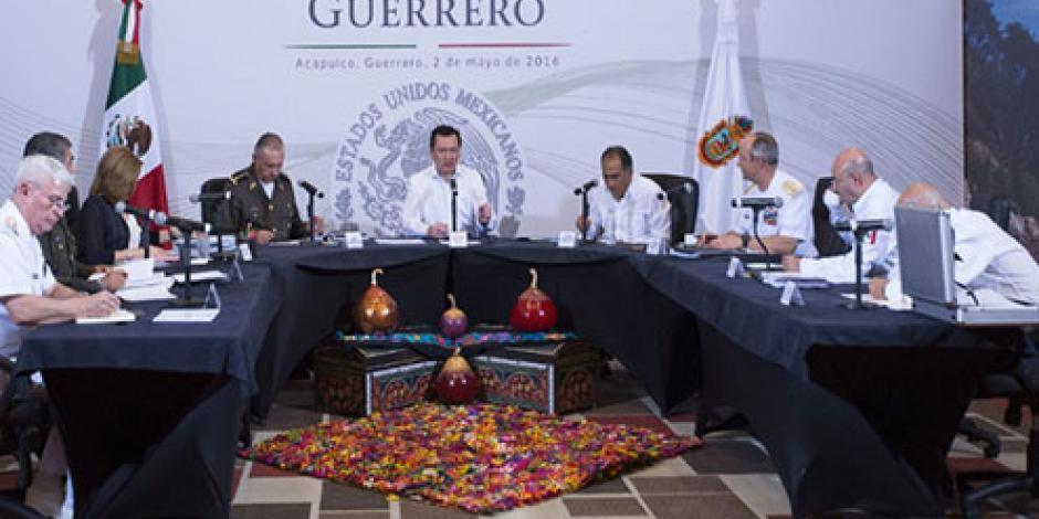 Sedena tendrá control de cámaras C-4 en Acapulco, indica Segob