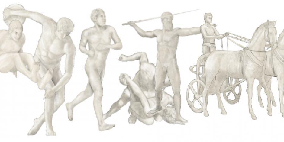Juegos olímpicos,  la fiesta griega para honrar a Zeus