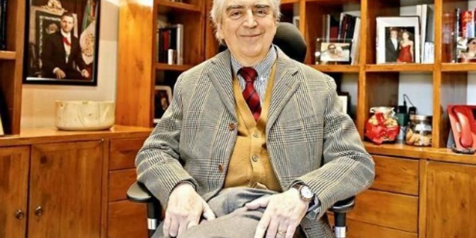 Rafael Tovar y de Teresa dejó obra inédita en su escritorio
