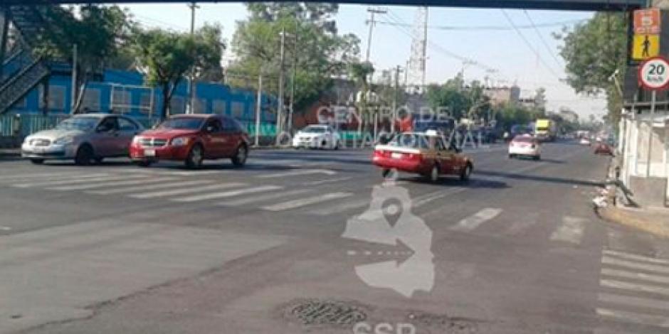 Manifestantes complicaron circulación en Javier Rojo Gómez