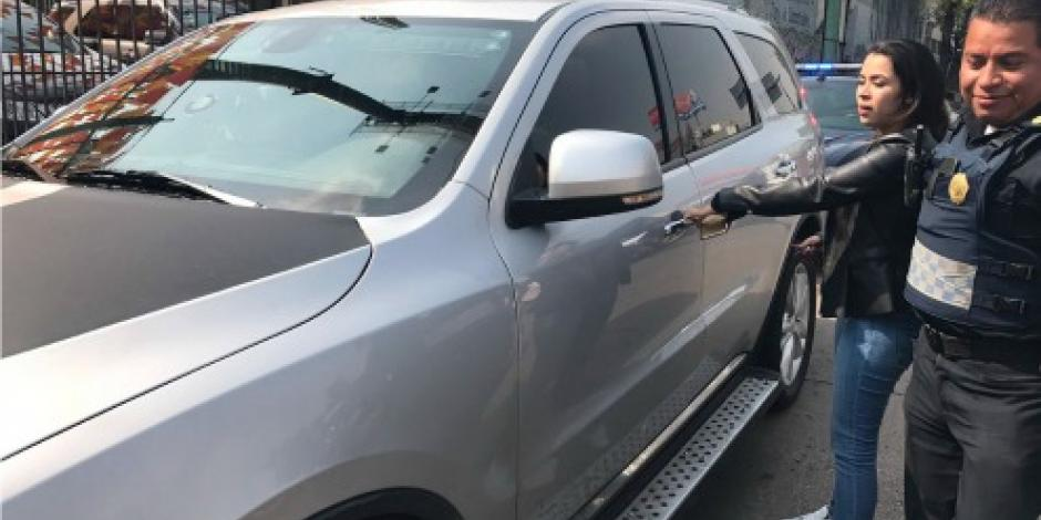 VIDEO: Agente de la PGR atropella a policía en calles de la CDMX