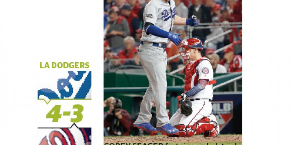 Con triunfo de Julio Urías, los Dodgers avanzan