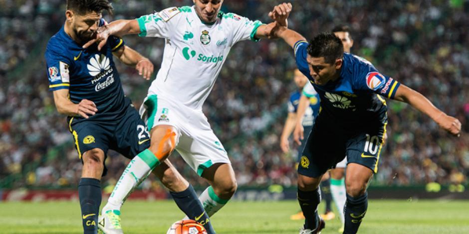 Santos y América empatan en Concachampions