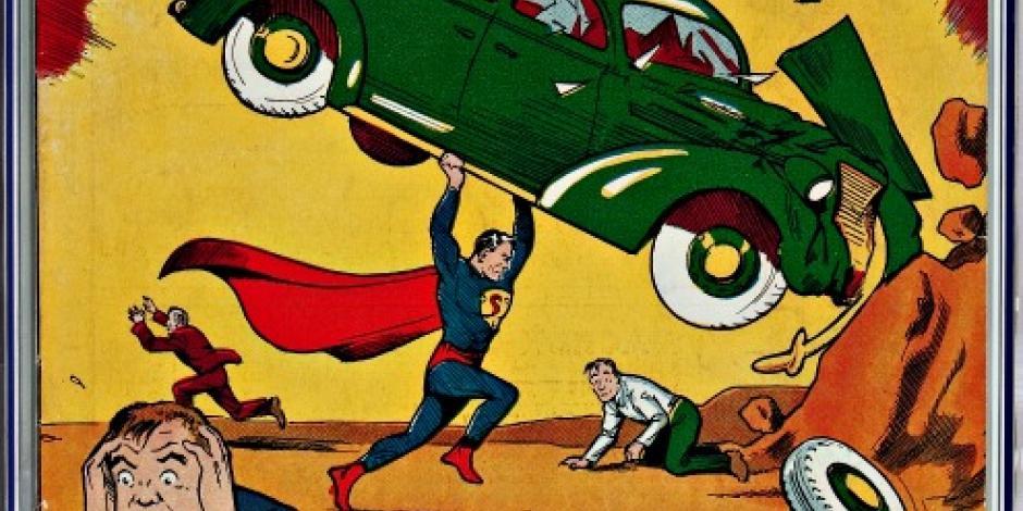 Subastan cómic con el debut de Superman en 956 mil dólares