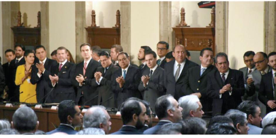 Astudillo participa en reunión de seguridad