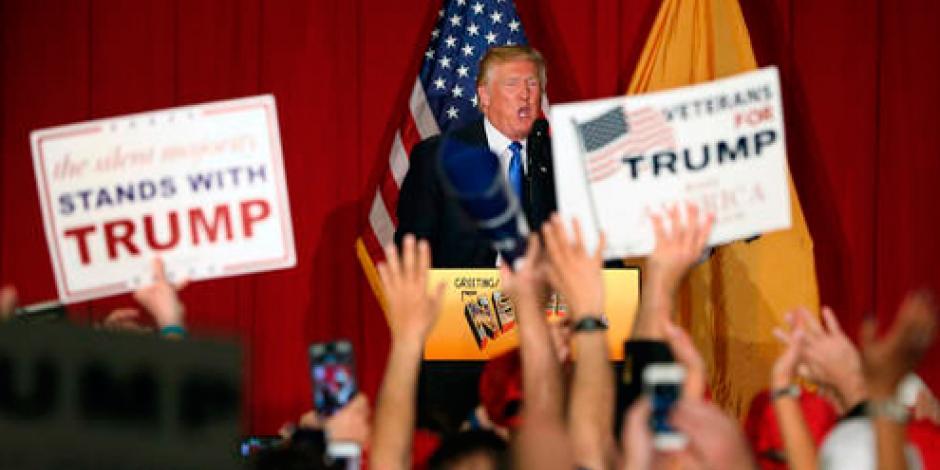 Trump gasta 48.3 mdd de su fortuna para campaña presidencial