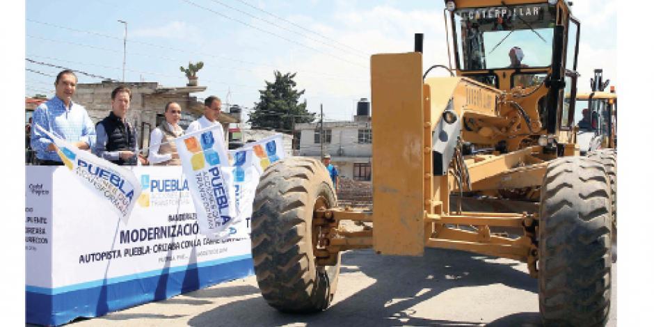 Moreno Valle inaugura obra en puente