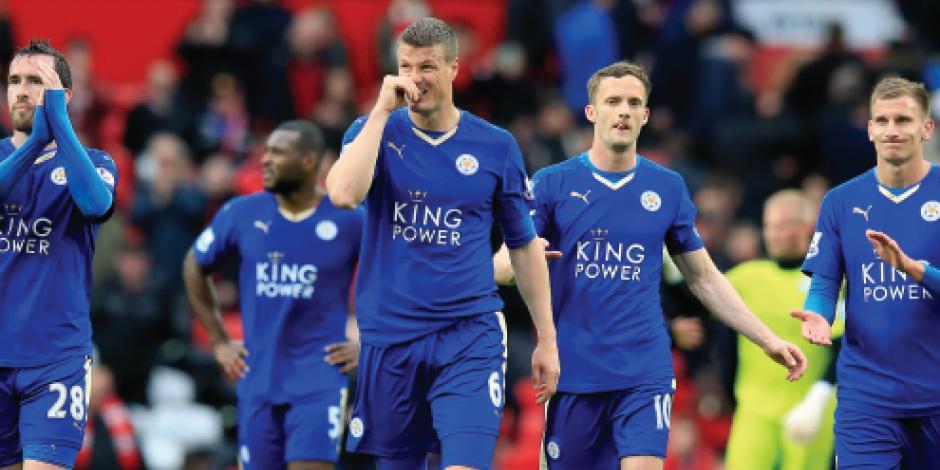 Leicester City pone suspenso al título de la Liga Premier