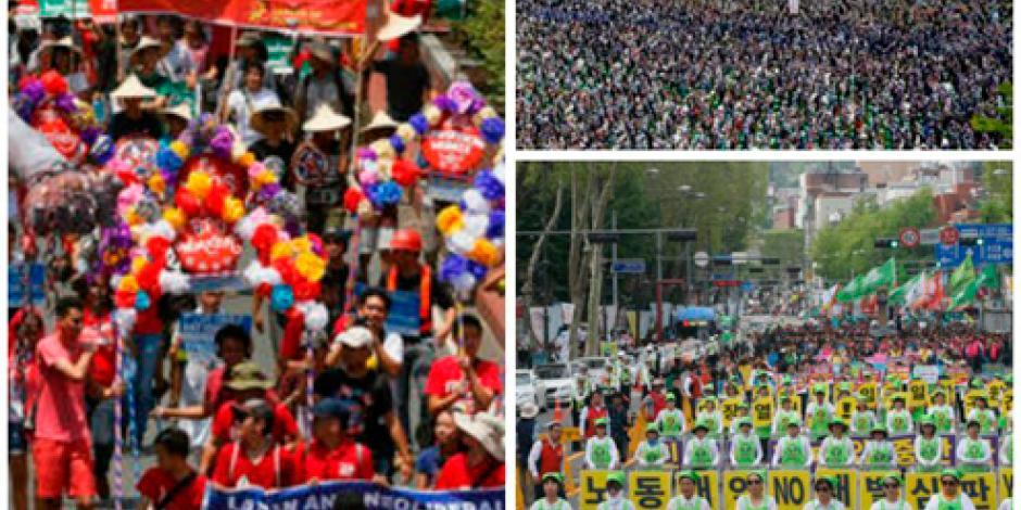 Inician marchas en el mundo por el Día Internacional del Trabajo
