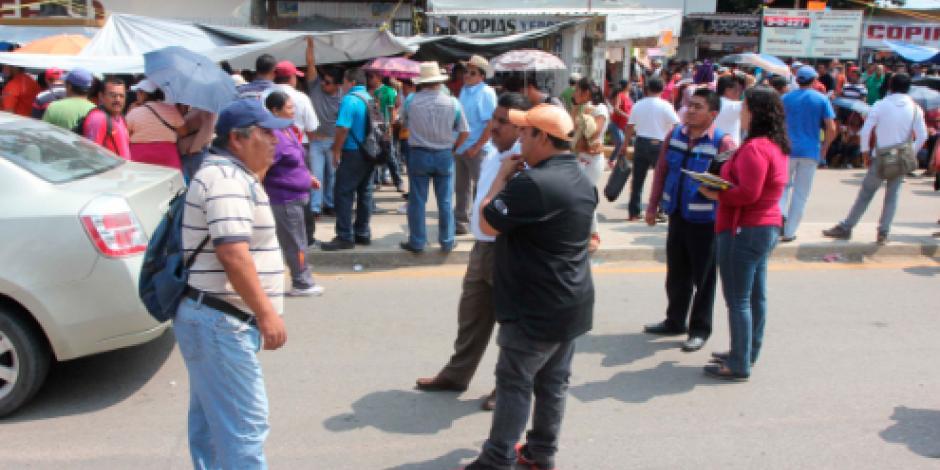 CNTE en Oaxaca acuerda seguir con sus marchas