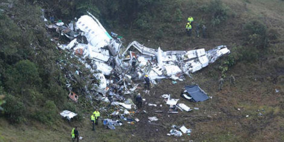 Colombia confirma que accidente aéreo fue por falta de combustible
