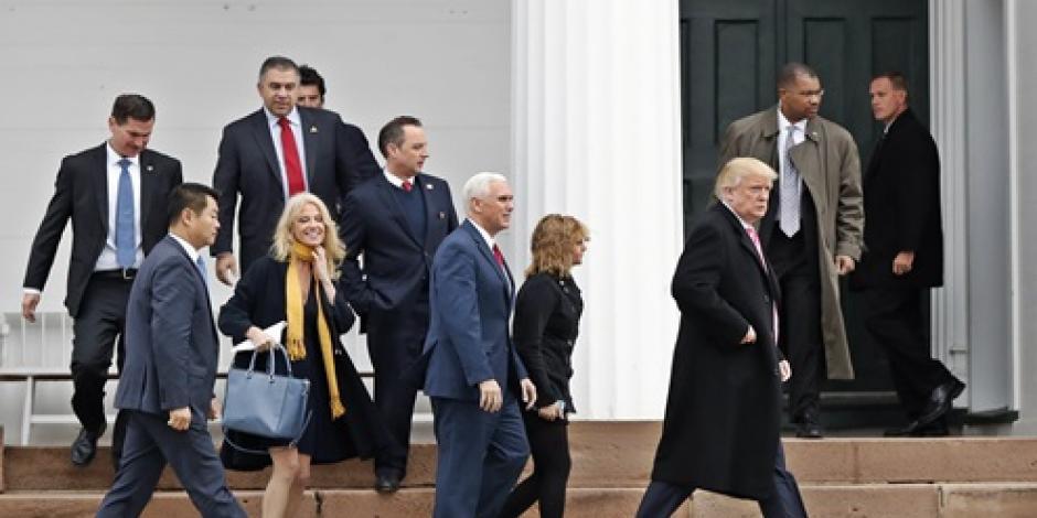 Equipo de Trump rechaza denuncias de injerencia de Rusia