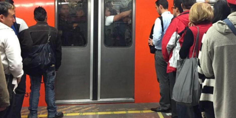 """Replicarán """"Antes de Entrar Permita Salir"""" en toda la Línea 1 del Metro"""