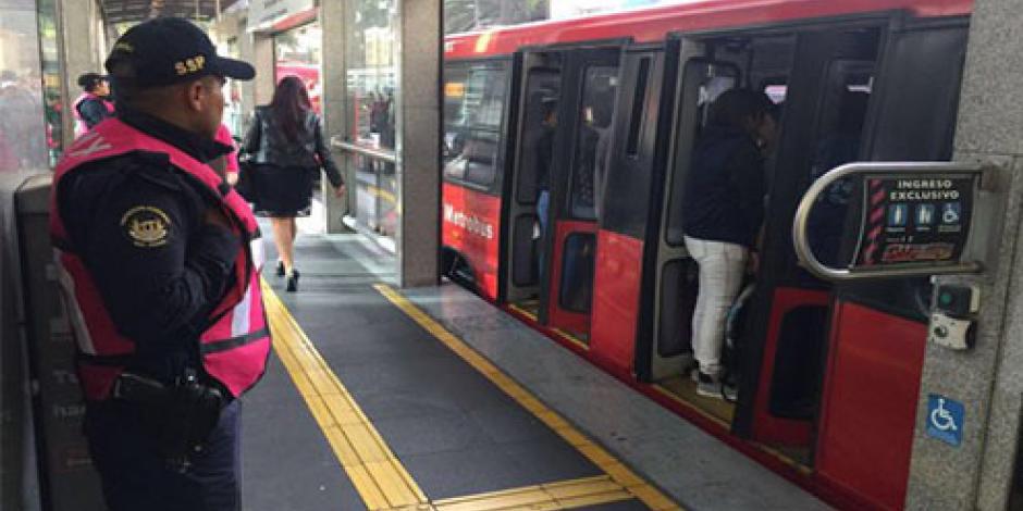Metrobús aplica desvíos en Línea 6