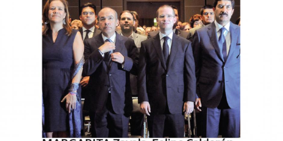 Panistas rinden último tributo a Luis H. Álvarez